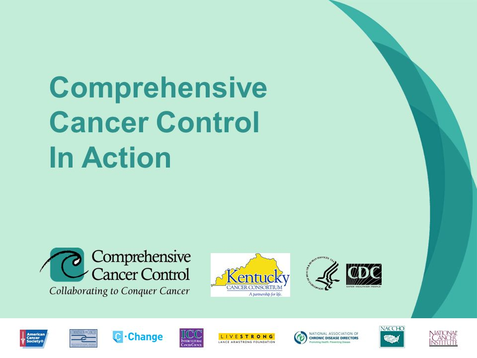 1 Comprehensive Cancer Control In Action