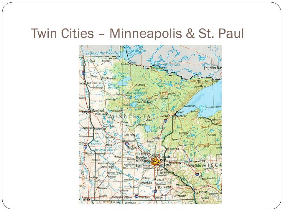 Twin Cities – Minneapolis & St. Paul