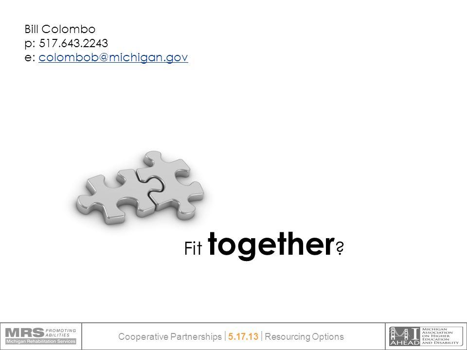 Fit together .