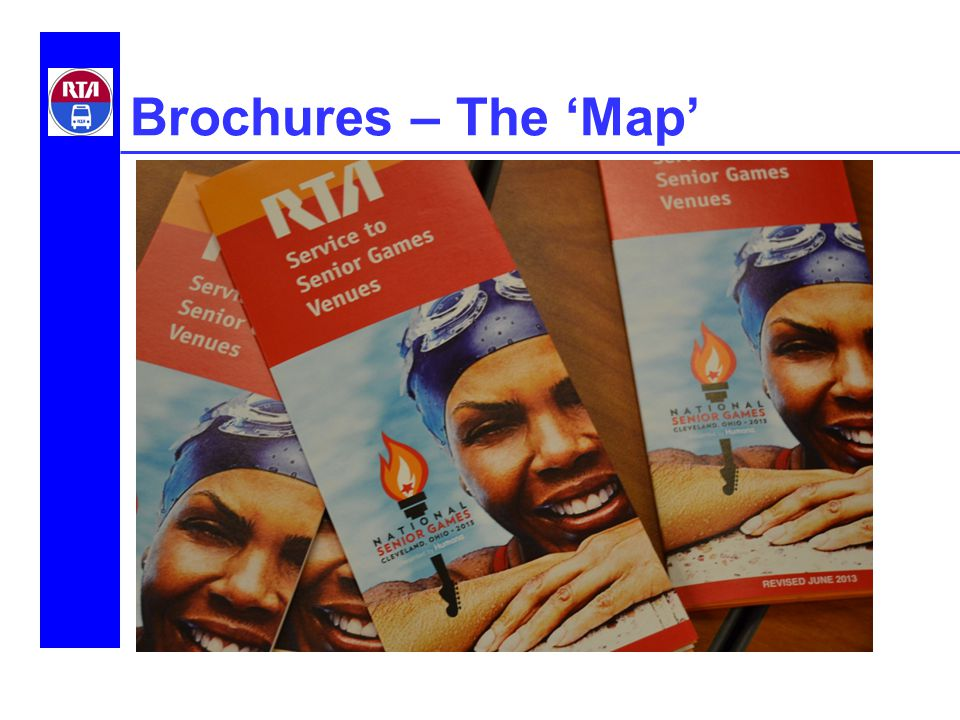 Brochures – The 'Map'