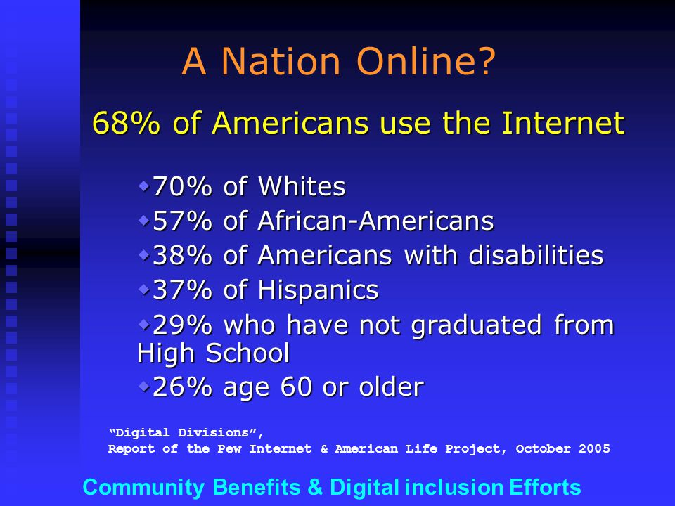 Community Benefits & Digital inclusion Efforts …through support for local, relevant & accessible CONTENT (a walled garden?)