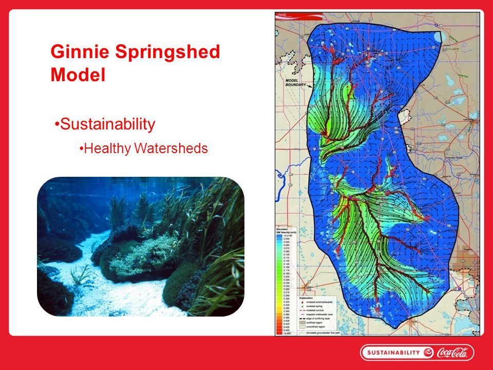 Ginnie Springshed Model Sustainability Healthy Watersheds