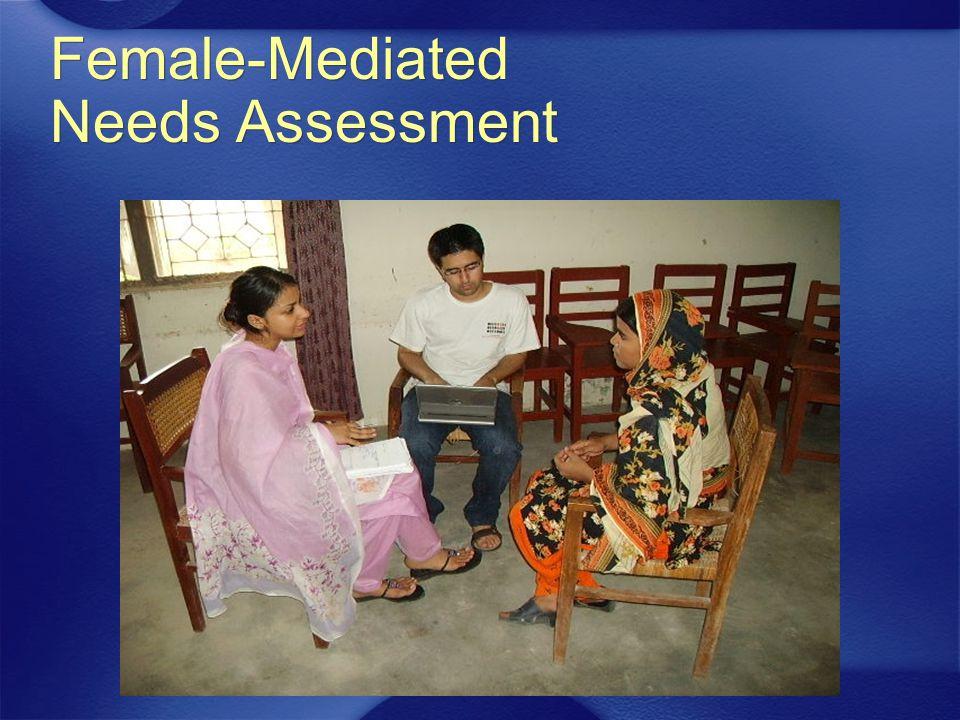 Female-Mediated Needs Assessment