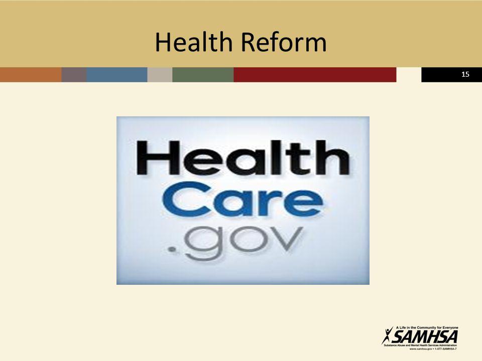 15 Health Reform