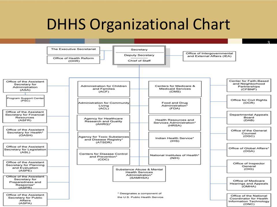 3 DHHS Organizational Chart 3