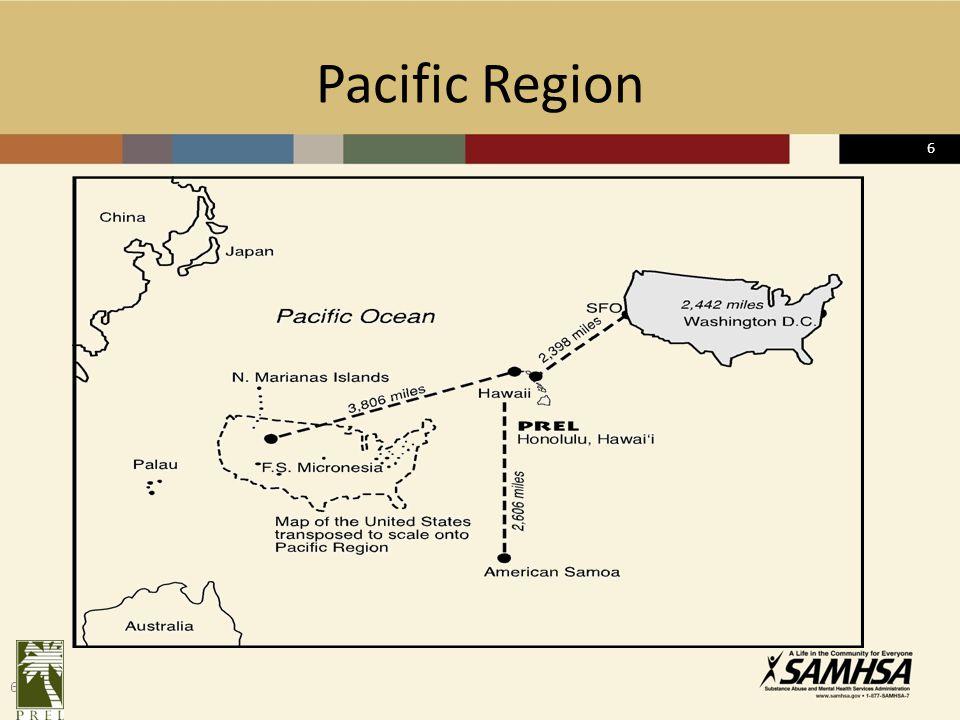 6 Pacific Region 6