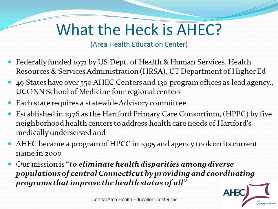 AHEC AROUND USA Central Area Health Education Center, Inc