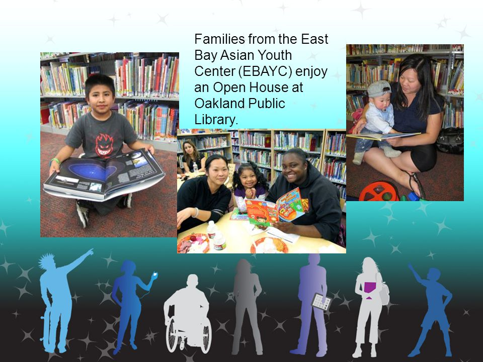 Form Partnerships Ally with school media specialists Forge strategic partnerships –Teen Parents counselors –Foster youth foster parents/group homes –Kids outside school district homeschoolers –Juvenile offenders Juvie Librarian/Warden