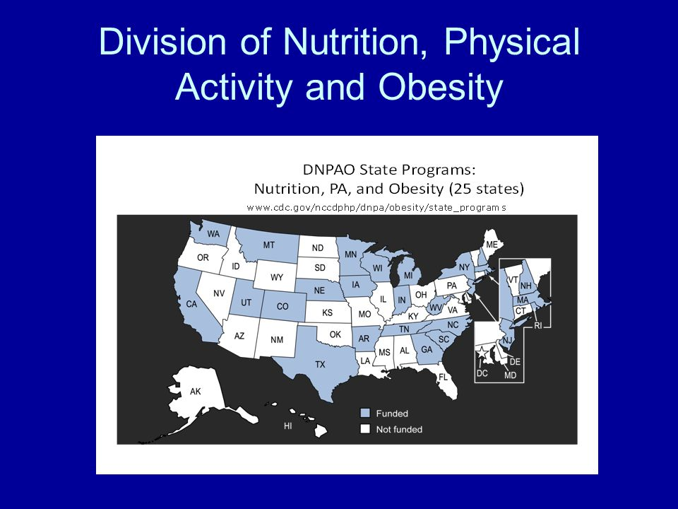 Division of Nutrition, Physical Activity and Obesity
