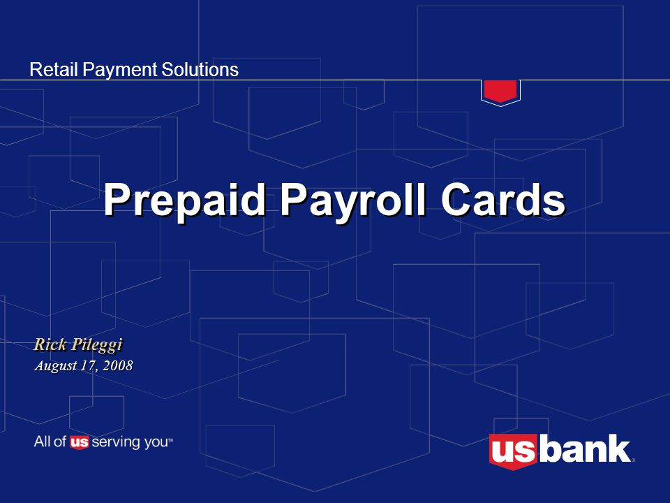 R E T A I L P A Y M E N T S O L U T I O N SAgenda  Payroll Card Landscape  Prepaid Cards and the Underserved  Keys to Successful Programs  Case Studies  Appendix of Materials 2