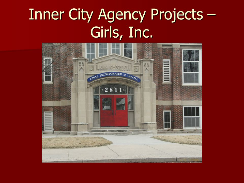 Inner City Agency Projects – Girls, Inc.