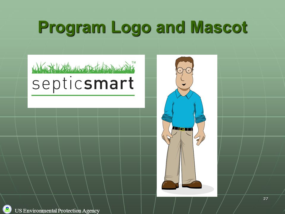 US Environmental Protection Agency 27 Program Logo and Mascot