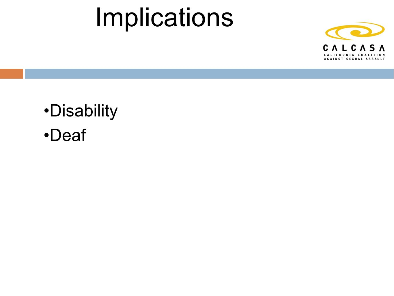 Definitions and Implications Disability Deaf