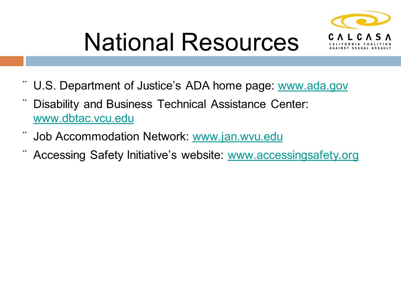 National Resources  U.S.