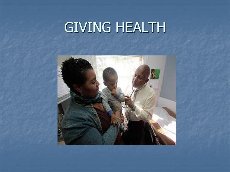 GIVING HEALTH
