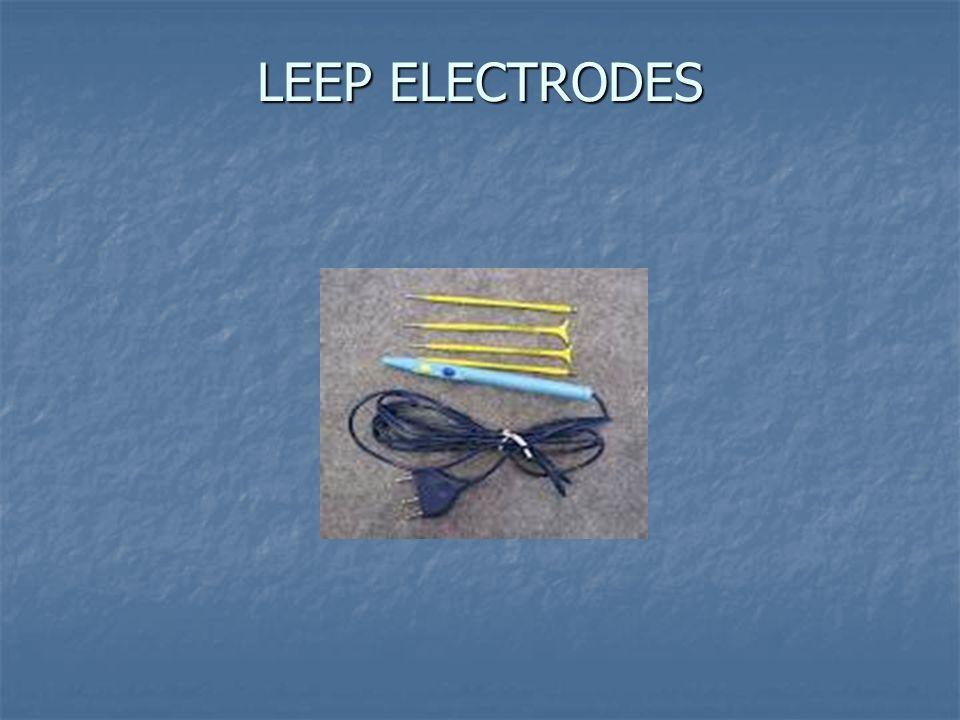 LEEP ELECTRODES