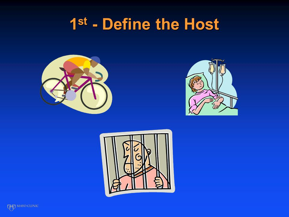 1 st - Define the Host