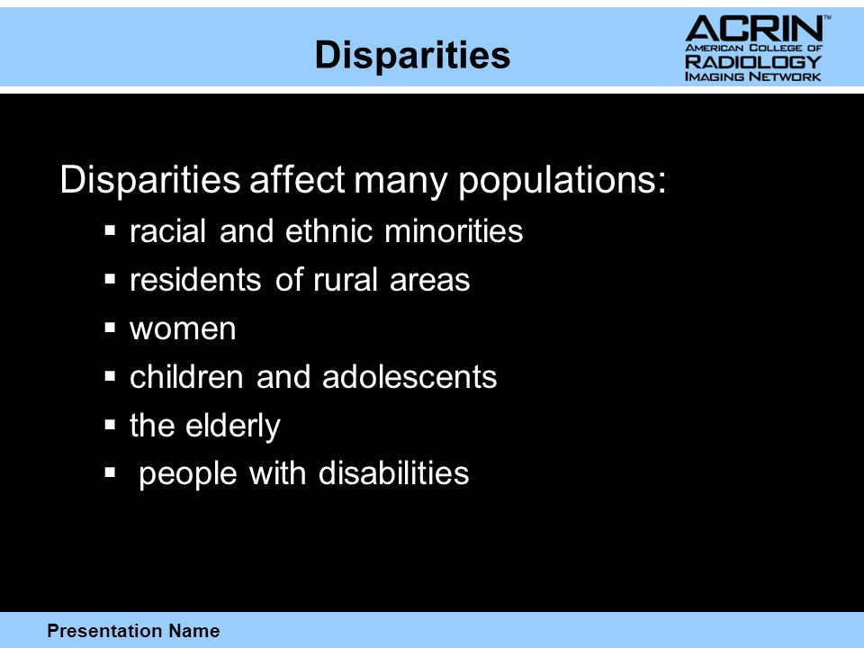 Presentation Name Strategies for the Recruitment of Special Populations  Differences in cultural perceptions regarding healthcare utilization and research should be considered when developing strategies for the recruitment of participants from culturally diverse populations.