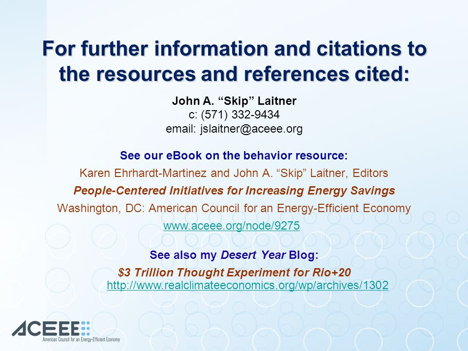 For further information and citations to the resources and references cited: John A.
