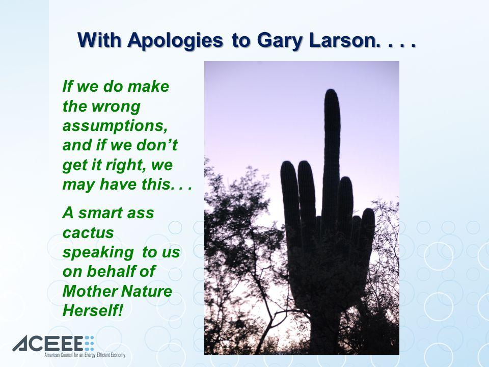 With Apologies to Gary Larson....