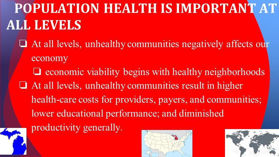 HOW DO WE DETERMINE POPULATION HEALTH?