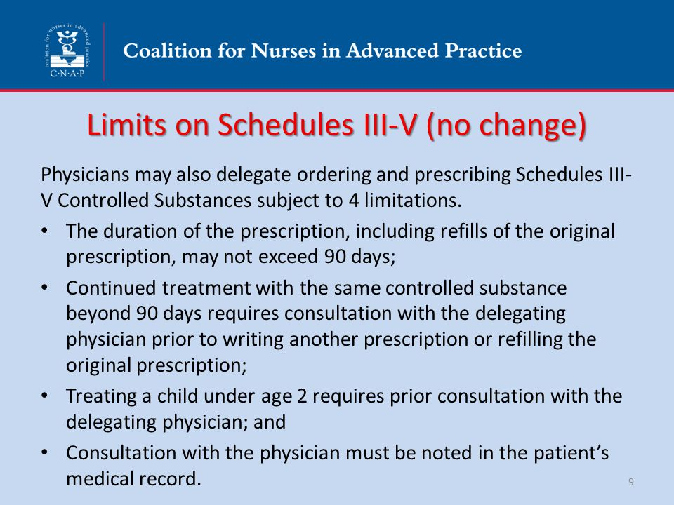 Recap of Physician Delegating in Hospital Delegation is through protocols Delegate to an unlimited number of APRNs/PAs – Does not include freestanding clinics (7 FTE limit) Limited to delegation in 1 hospital Physician may also delegate in other practices to a maximum of 7 APRNs/PAs under a Prescriptive Authority Agreement 20