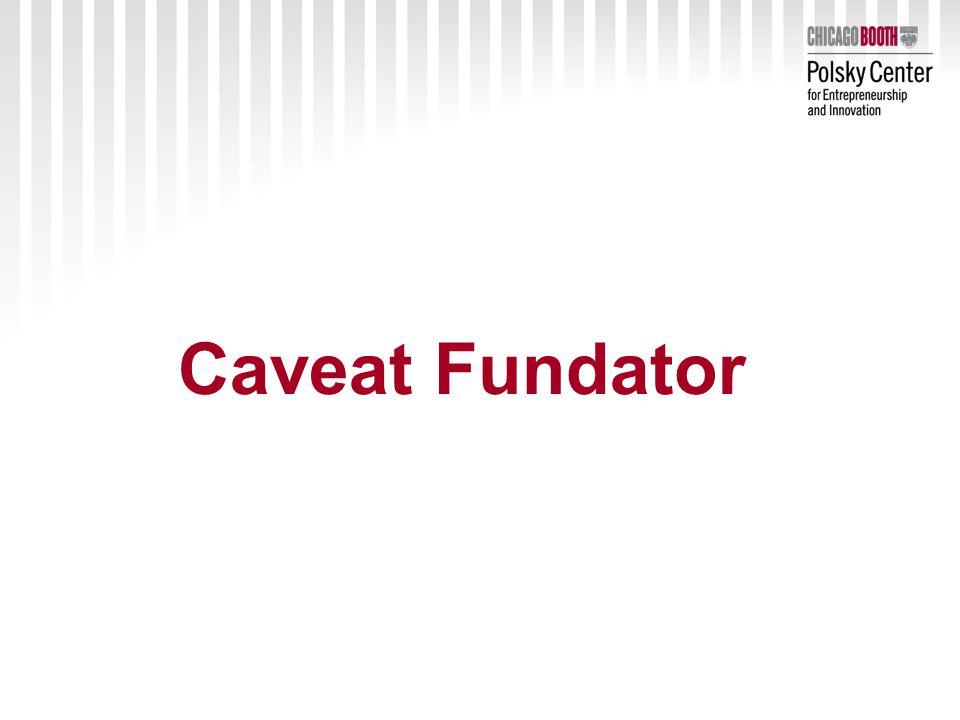 Caveat Fundator