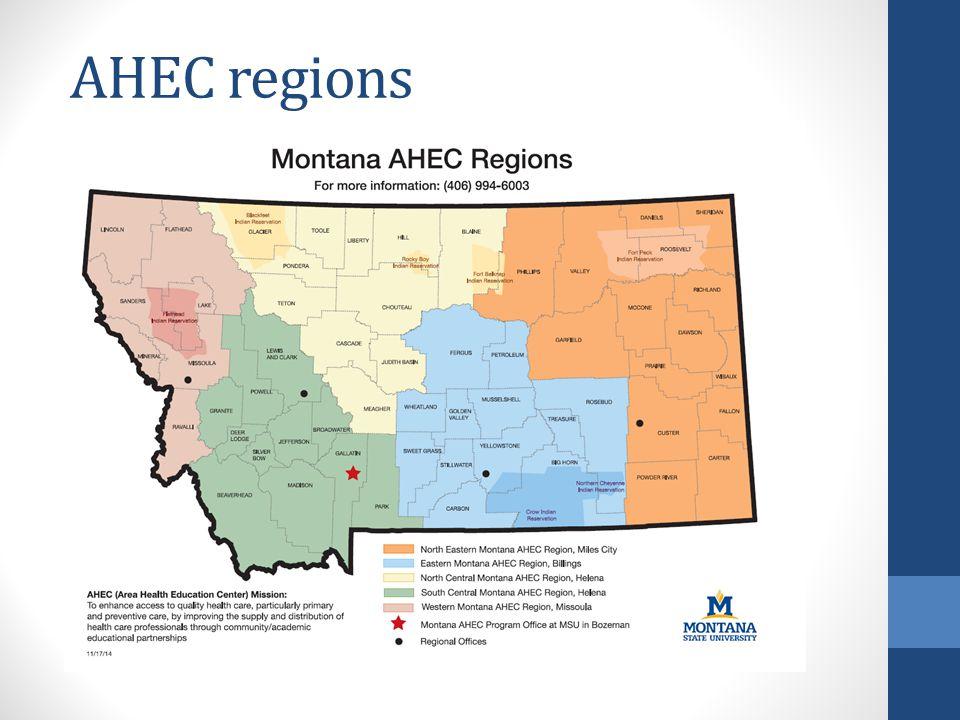AHEC regions