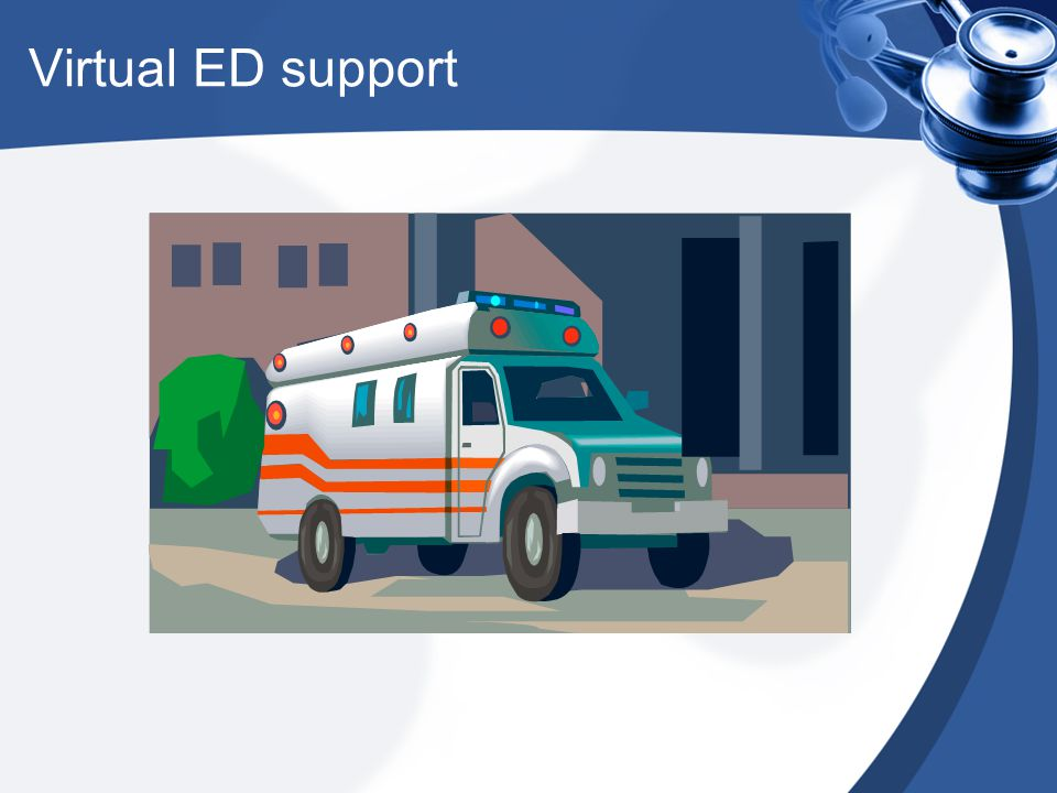 Virtual ED support