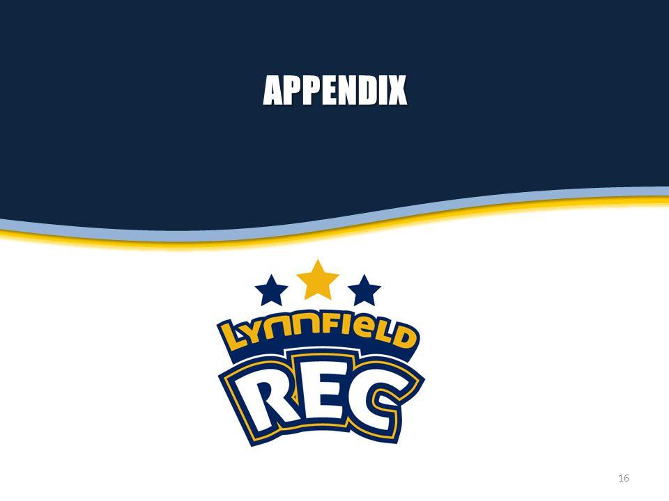 APPENDIX 16