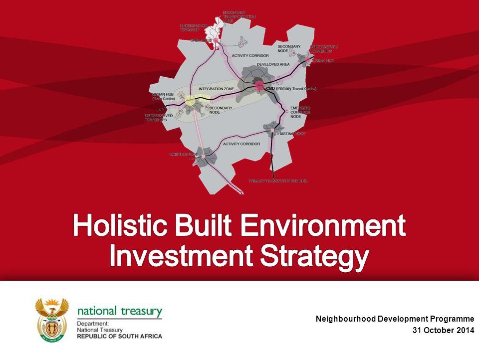 Neighbourhood Development Programme 31 October 2014