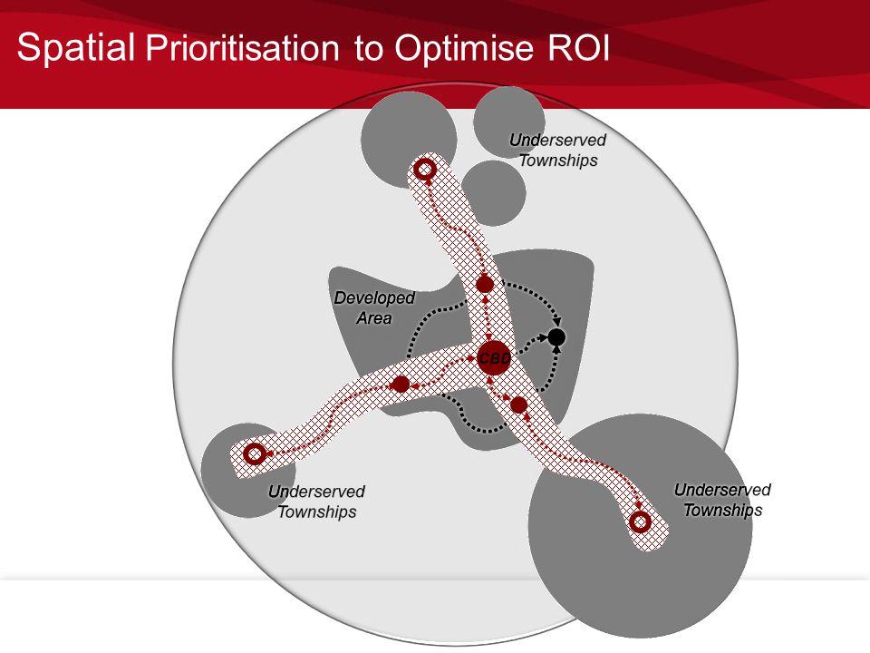 CBD Spatial Prioritisation to Optimise ROI