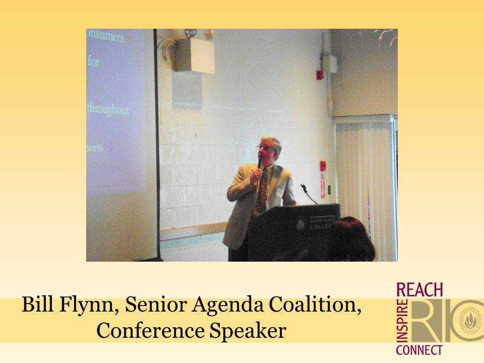 Bill Flynn, Senior Agenda Coalition, Conference Speaker