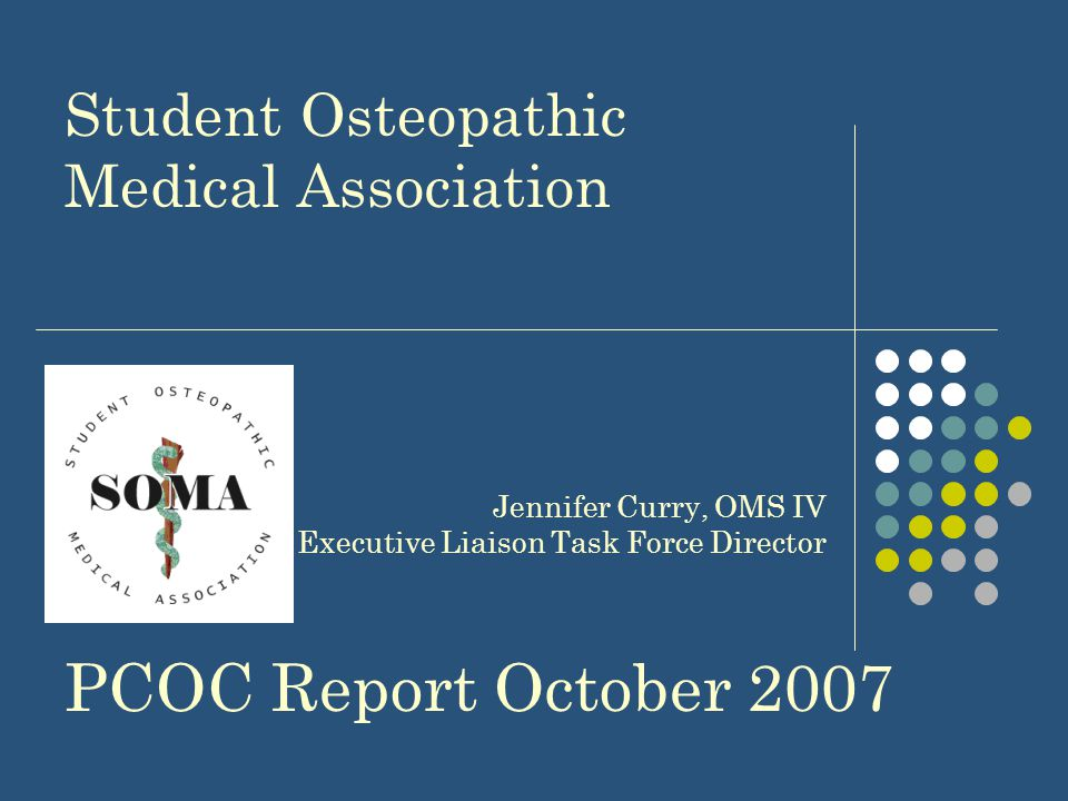 Osteopathic Education: All osteopathic colleges emphasize primary care as an important part of their curriculum Most students are members of ACOFP membership is free to all Osteopathic students Students are required to perform primary care focused rotations including rotations in rural and underserved areas