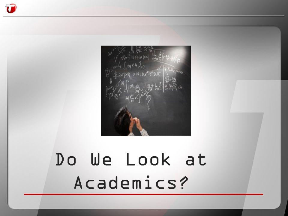 Do We Look at Academics