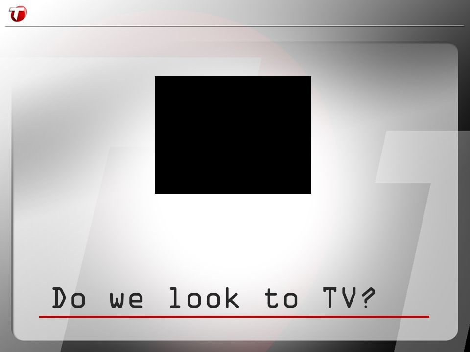 Talk to those sitting to your left and right…..does TV have it right?