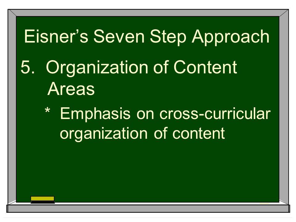 Eisner's Seven Step Approach 5.