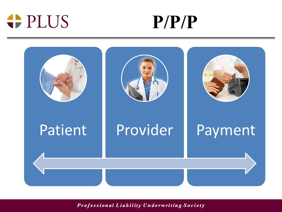 Professional Liability Underwriting Society P/P/P PatientProviderPayment