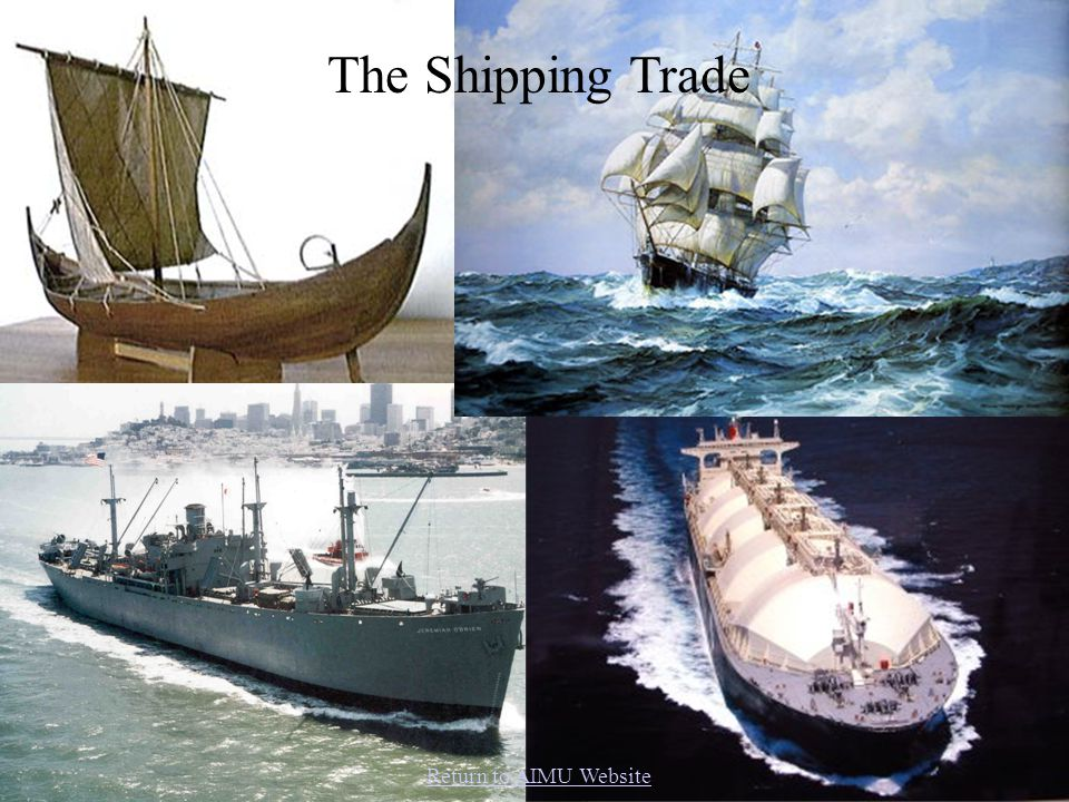 First came the viking cargo ships, the knarr.