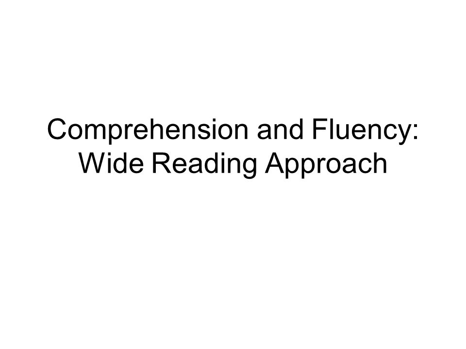 Wide Reading Day One Same as FORI:  Preteach 2 or 3 key words  Discuss the book to build and activate prior knowledge.