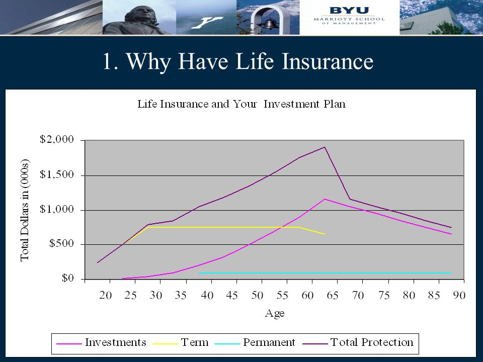 6 1. Why Have Life Insurance