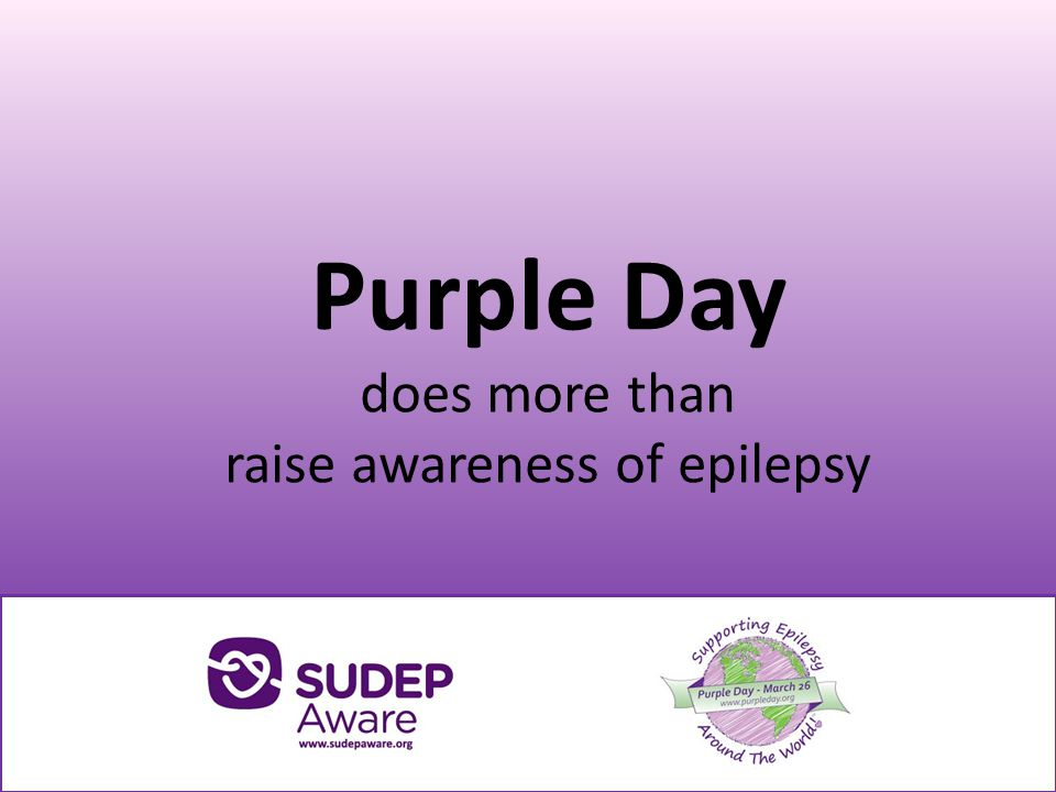 Families bereaved by sudden death in epilepsy (SUDEP) share what Purple Day means to them.