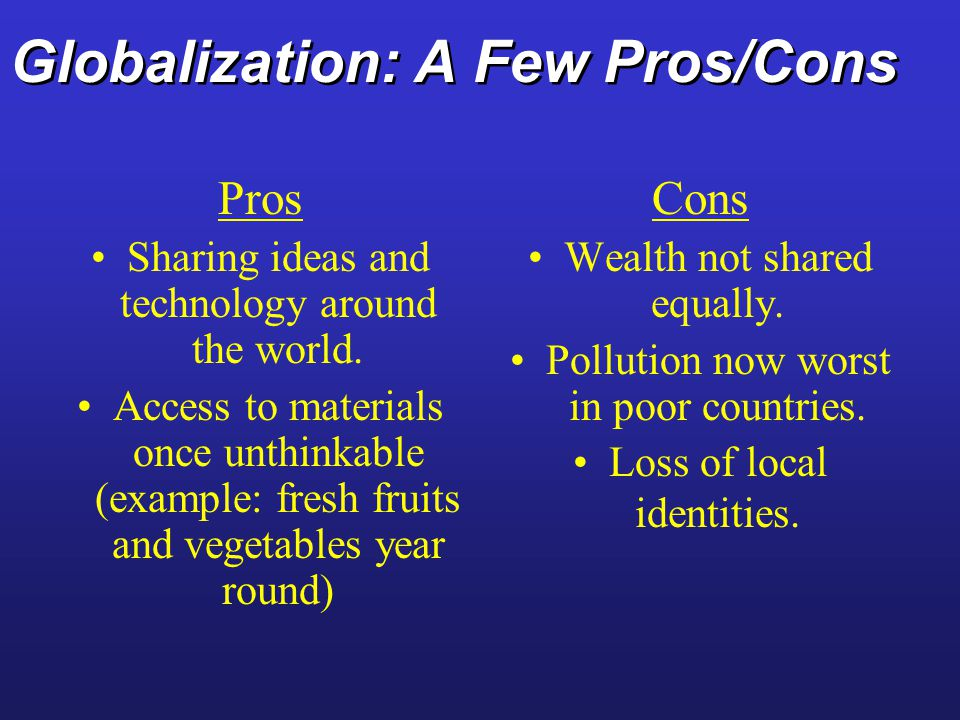benefits of globalization essay The term globalization is defined as growing economic interdependence of countries worldwide through increasing volume and variety of cross-border transactions in goods and services, free international capital flows, and more rapid and widespread diffusion of technology.