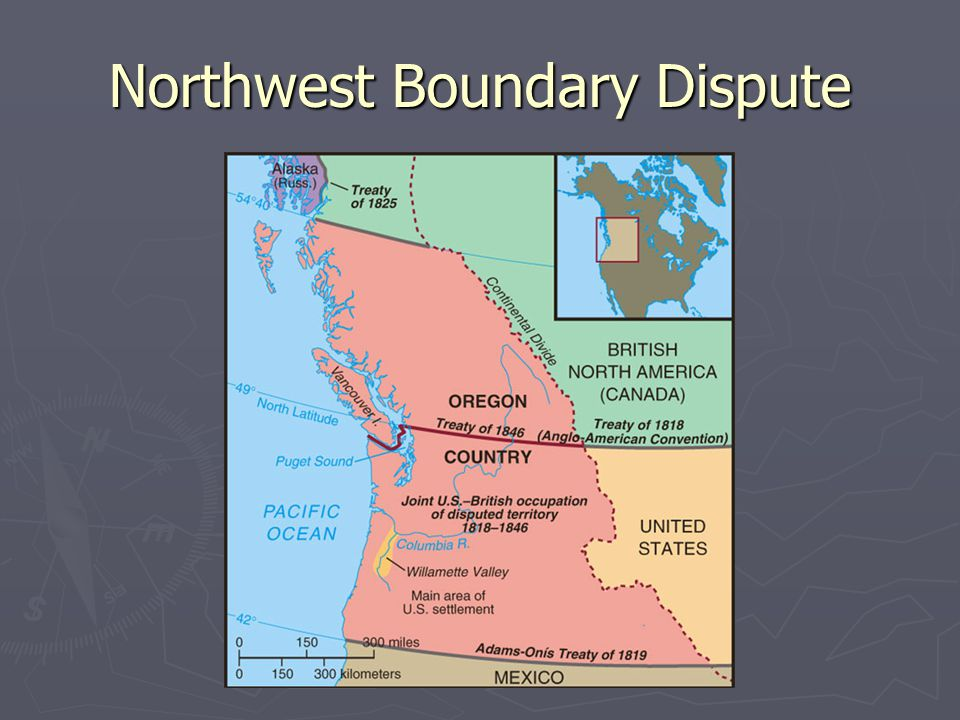 Northwest Boundary Dispute