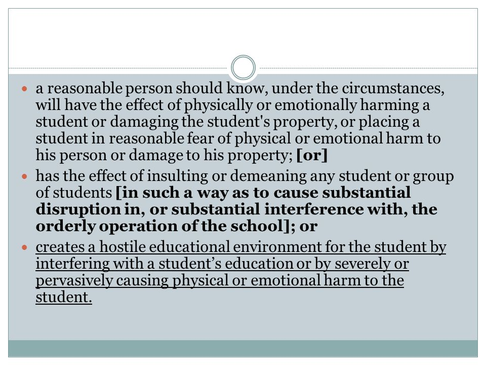 New: Reporting Procedures All acts of HIB also must be reported in writing to the principal within 2 school days of when the school employee or contracted service provider witnessed or received reliable information