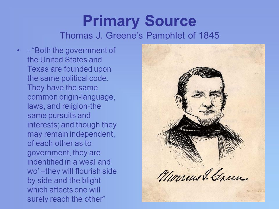 Primary Source Thomas J.