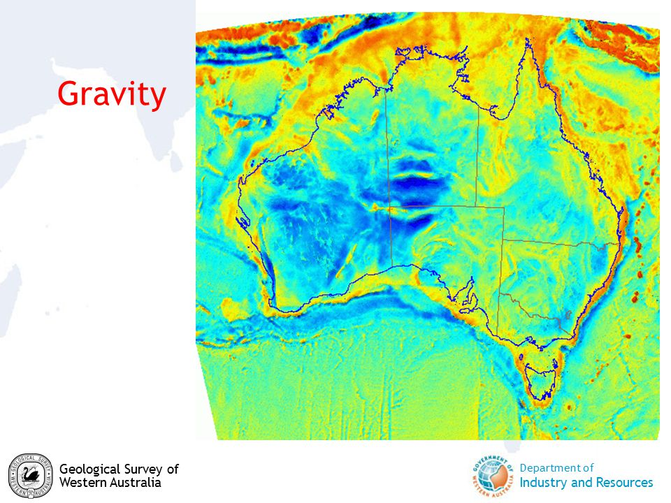 Department of Industry and Resources Geological Survey of Western Australia Gravity
