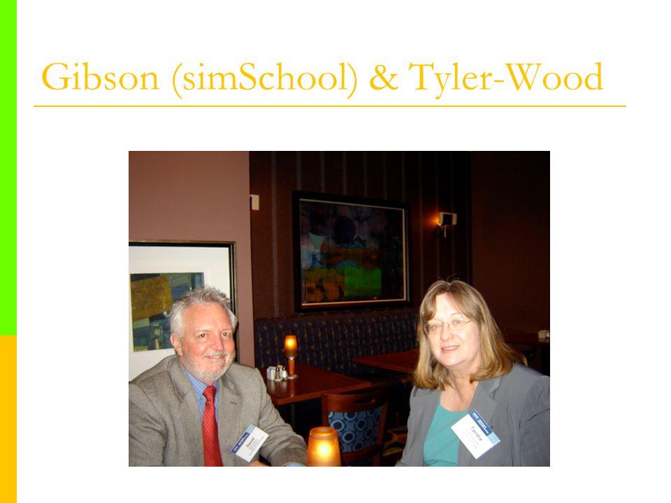 Gibson (simSchool) & Tyler-Wood