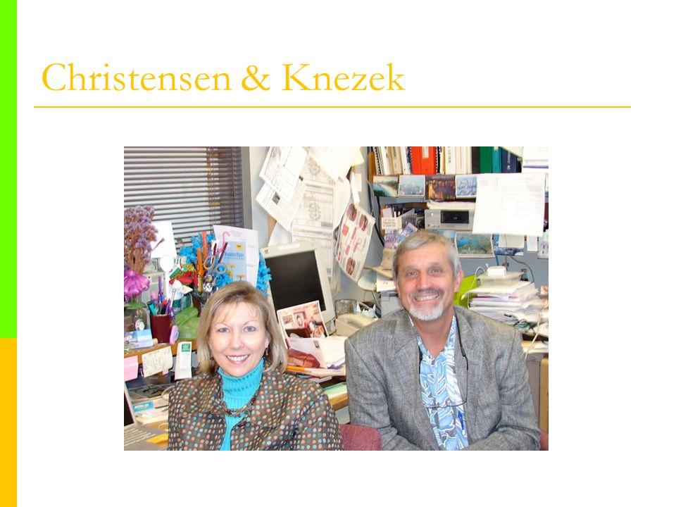 Christensen & Knezek