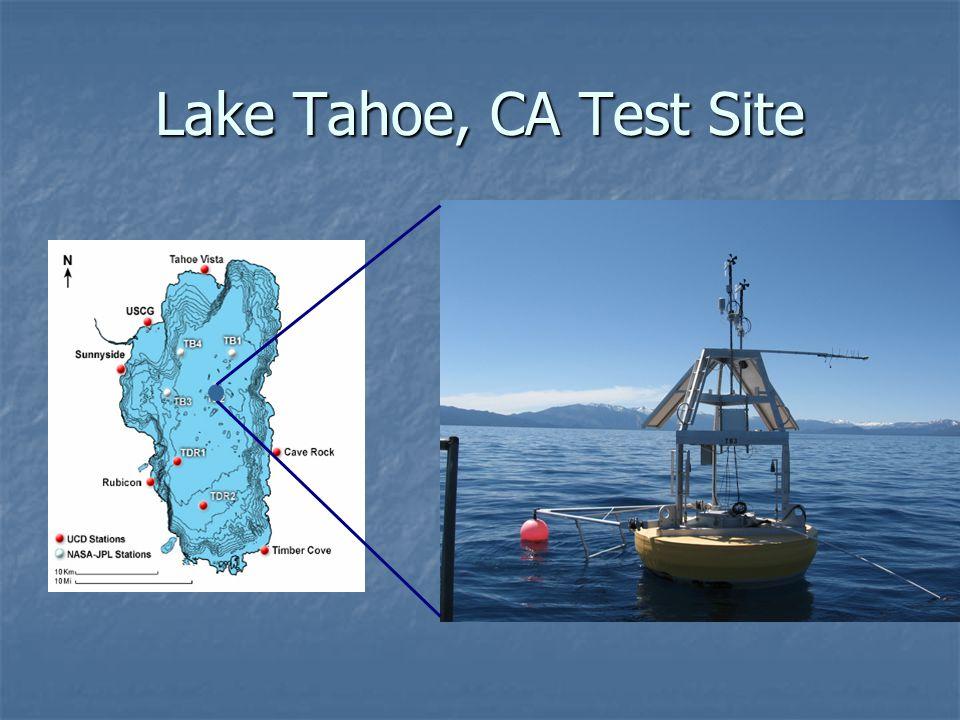 Lake Tahoe, CA Test Site
